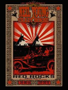 POSTER - RED ROCKS A33