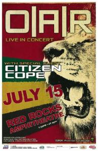 POSTER - RED ROCKS A38