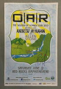 POSTER - RED ROCKS A41