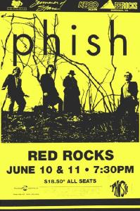 POSTER - RED ROCKS A50