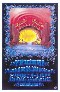 POSTER - RED ROCKS A51