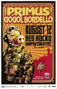 POSTER - RED ROCKS AMP B10