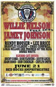 POSTER - RED ROCKS AMP B105