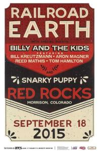 POSTER - RED ROCKS AMP B14