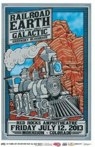 POSTER - RED ROCKS AMP B15