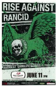 POSTER - RED ROCKS AMP B22