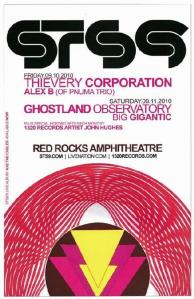 POSTER - RED ROCKS AMP B40