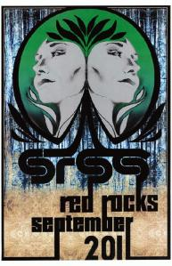 POSTER - RED ROCKS AMP B45