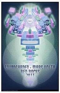 POSTER - RED ROCKS AMP B52