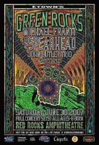 POSTER - RED ROCKS AMP B53