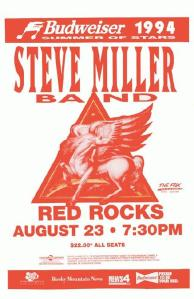 POSTER - RED ROCKS AMP B57