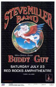 POSTER - RED ROCKS AMP B58