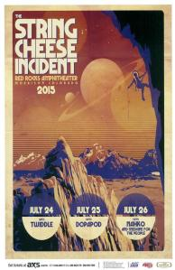 POSTER - RED ROCKS AMP B69