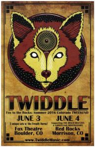 POSTER - RED ROCKS AMP B84