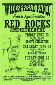 POSTER - RED ROCKS AMP B91