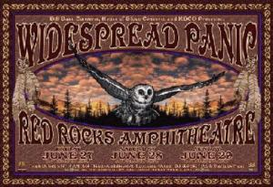 POSTER - RED ROCKS AMP B92