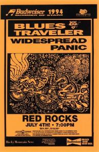 POSTER - RED ROCKS AMP B97