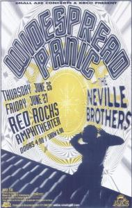 POSTER - RED ROCKS AMP B98