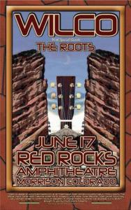 POSTER - RED ROCKS AMP B99