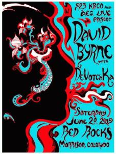 POSTER - RED ROCKS AMPTH 15