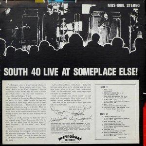 SOUTH 40 68 B