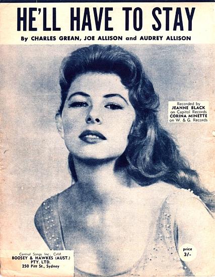 BLACK JEANNIE 1960