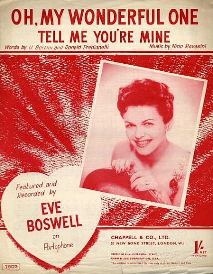 BOSWELL EVE 1952