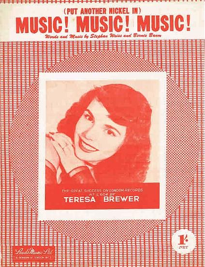 BREWER TERESA 1950