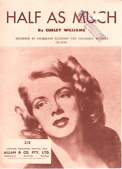 CLOONEY ROSEMARY 1962