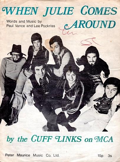 CUFF LINKS 1970