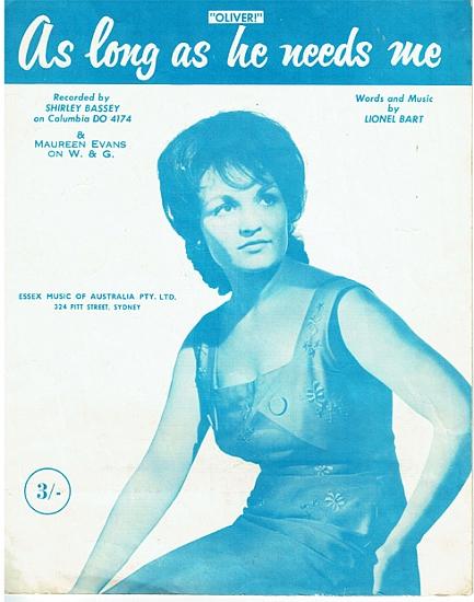 EVANS MAUREEN 1961
