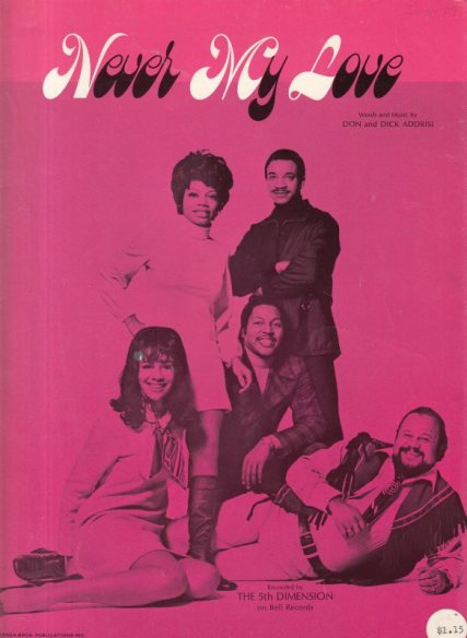 FIFTH DIMENSION - NEVER MY