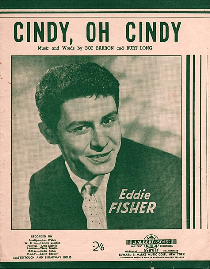 FISHER EDDIE 1956
