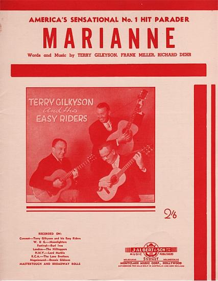 GILKYSON TERRY 1957
