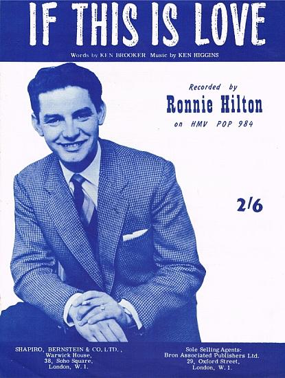 HILTON RONNIE 1962