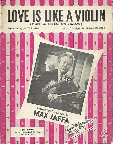 JAFFA MAX 1960