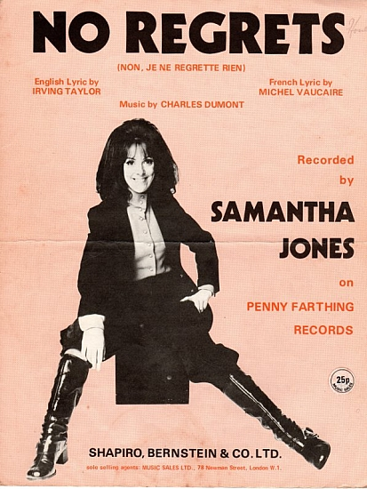 JONES SAMANTHA 1971