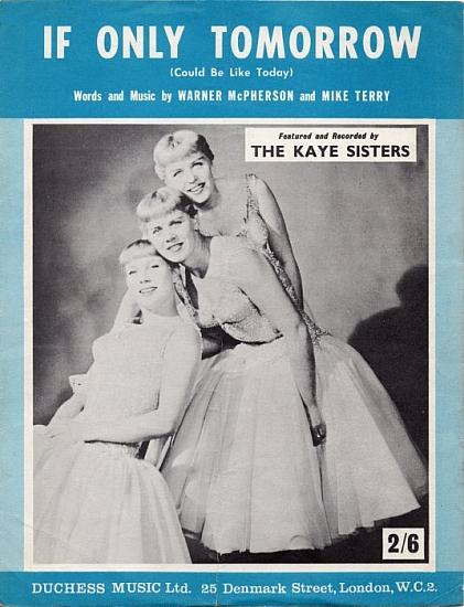 KAYE SISTERS 1962