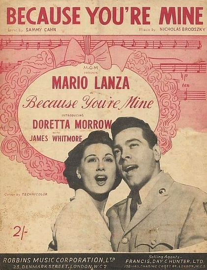 LANZA MARIO 1950'S
