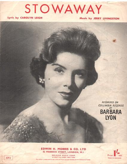 LYNN BARBARA 1950'S