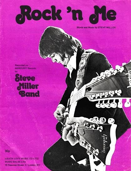 MILLER BAND STEVE 1970'S
