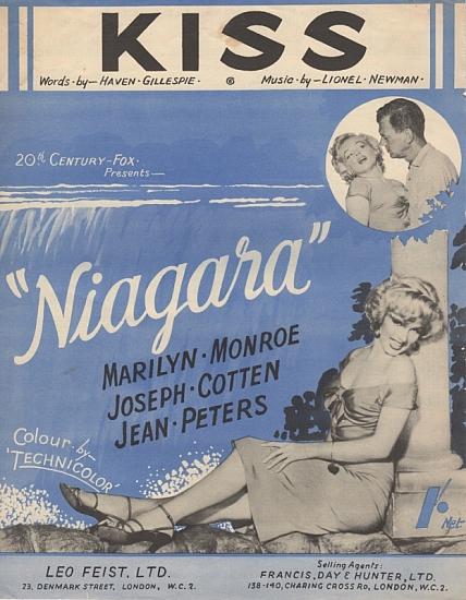MONROE MARILYN 1953