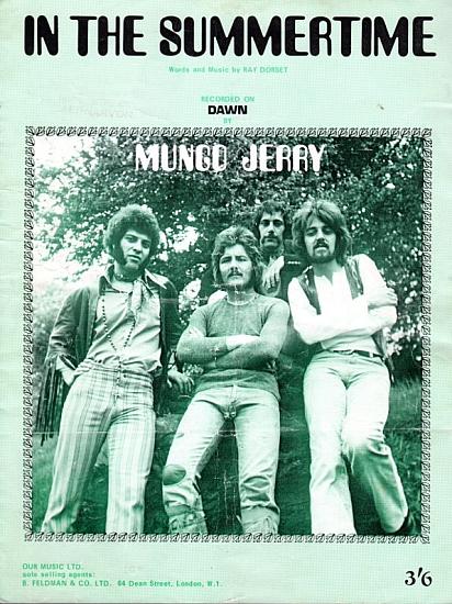 MUNGO JERRY 1970