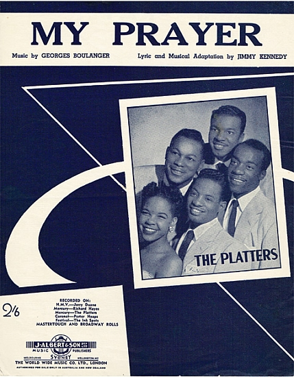 PLATTERS 1956