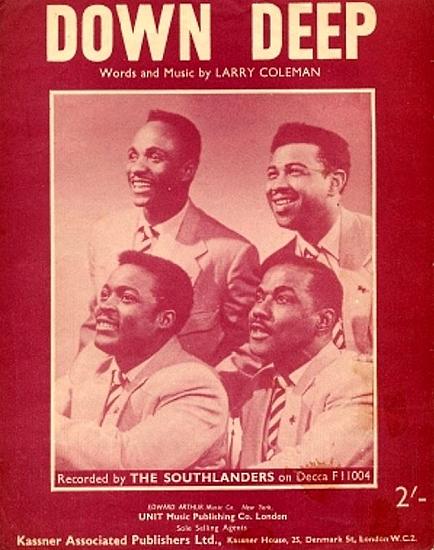 SOUTHLANDERS 1958
