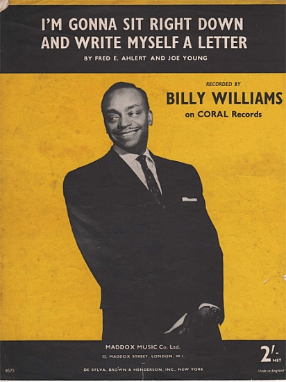 WILLIAMS BILLY 1957