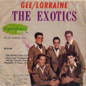 EXOTICS 63 B