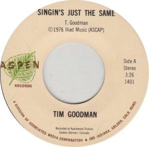 GOODMAN TIM - ASPEN 1401