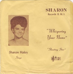 HALEY SHARON 1960'S