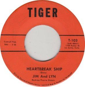 JIM & LYN - TIGER 103